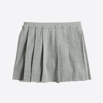 제이크루 걸즈 J.Crew Girls pleated skirt