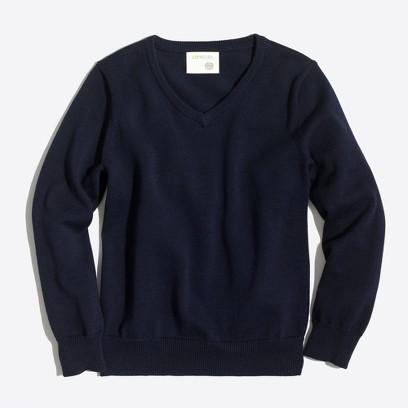 제이크루 보이즈 브이넥 스웨터 J.crew Boys classic V-neck sweater