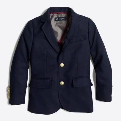 제이크루 보이즈 블레이저 J.crew Boys gold-button blazer