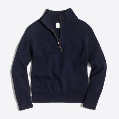 제이크루 보이즈 하프 집업 스웨터 J.crew Boys half-zip popover sweater