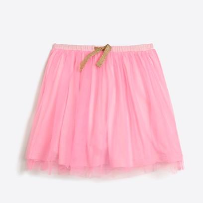 제이크루 걸즈 J.Crew Girls tulle skirt