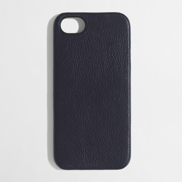 Factory leather phone case for iPhone 5