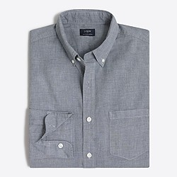 Heathered cotton shirt