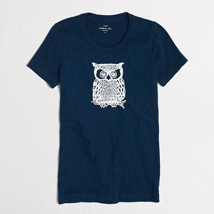 Factory owl collector tee