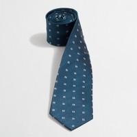 Silk multicolor dot tie