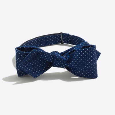 Silk dot bow tie factorymen ties & pocket squares c