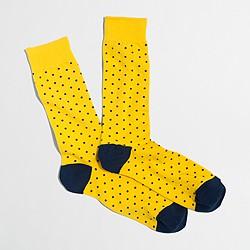 Factory microspot socks