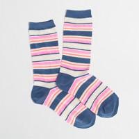 Factory neon stripe socks