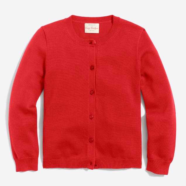 Girls' Casey cardigan sweater