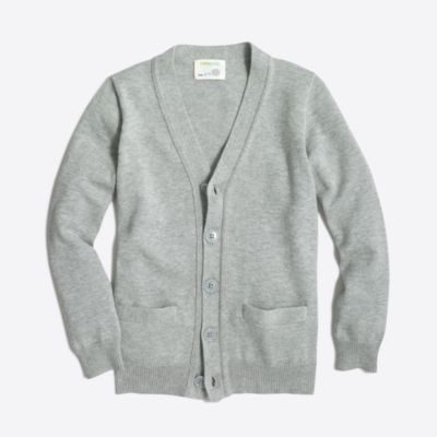Boys' cotton cardigan sweater factoryboys sweaters c