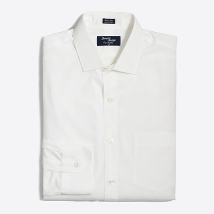Thompson dress shirt in white
