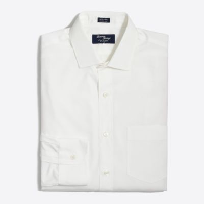 Thompson dress shirt in white factorymen slim c