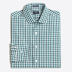 Thompson dress shirt in tattersall