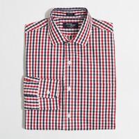 Tall Thompson dress shirt in tattersall