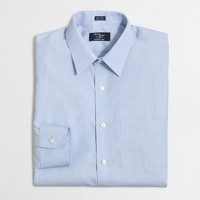 Wrinkle-free Voyager dress shirt in end-on-end