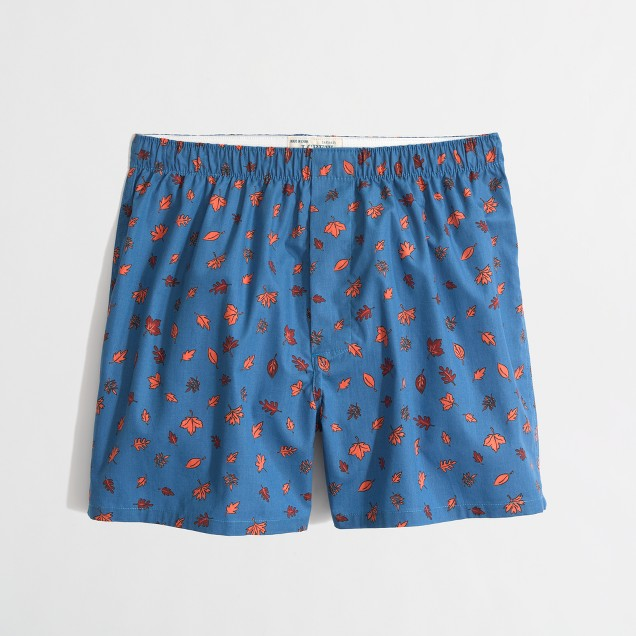Factory leaf boxers