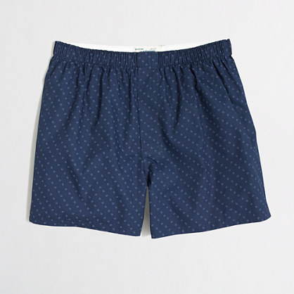 Factory micro-paisley boxers