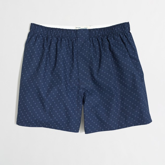 Factory micro-paisley boxers