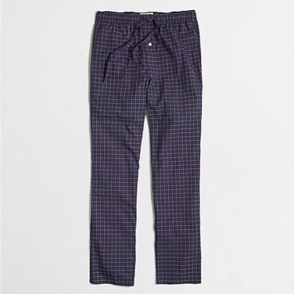 Factory checkered SLEEP pant