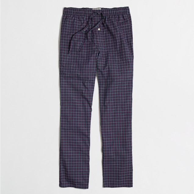 Factory checkered SLEEP pant