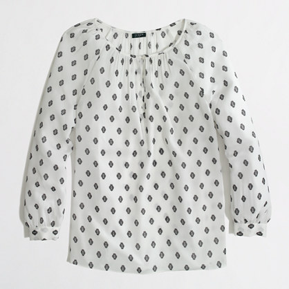 Factory printed keyhole top