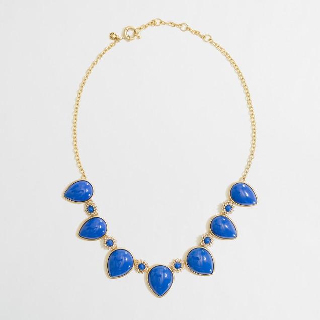 Factory reverse teardrop necklace