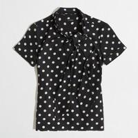 Factory printed neck-tie top