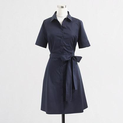 Factory tailored shirtdress