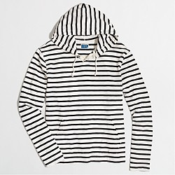 Factory striped hoodie