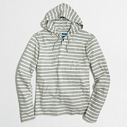 Factory striped hoodie