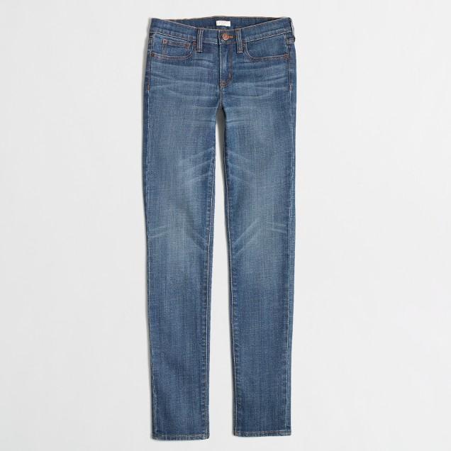 Factory midrise skinny jean