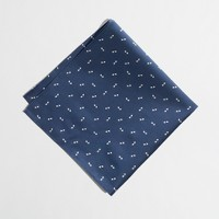 Factory mini-arrows pocket square