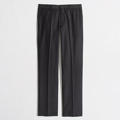 Factory Thompson suit pant in glen plaid