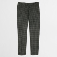 Factory skimmer pant in houndstooth