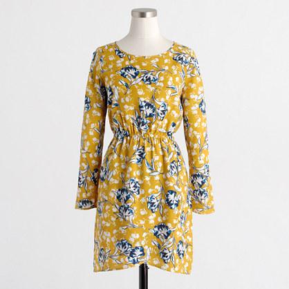 Tulip-hem dress