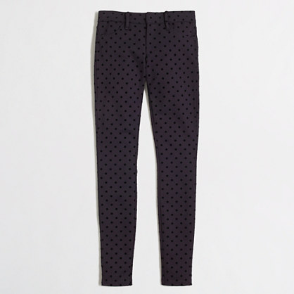 Factory dotted Gigi pant with pockets