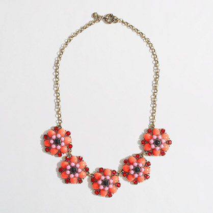 Factory neon flower necklace