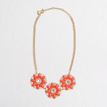 Factory neon crystal sundial necklace