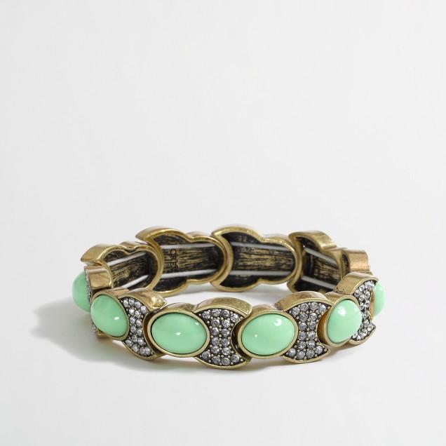 Factory crescent moon bracelet