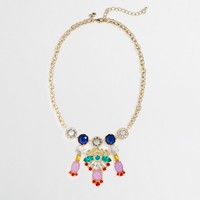 Factory multicolor chandelier necklace