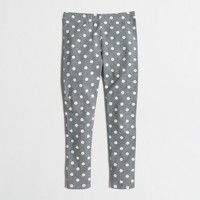 Girls' leggings in dots