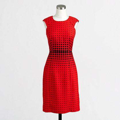Factory graphic dot dress