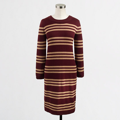 Factory stripe Charley sweater-dress