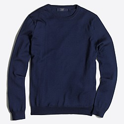 Slim merino crewneck sweater