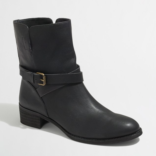 Factory Bayley buckle boots