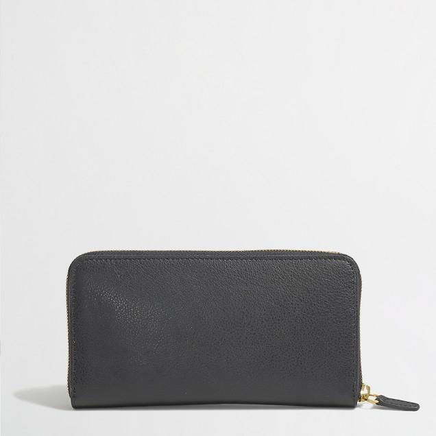 Factory zipper wallet