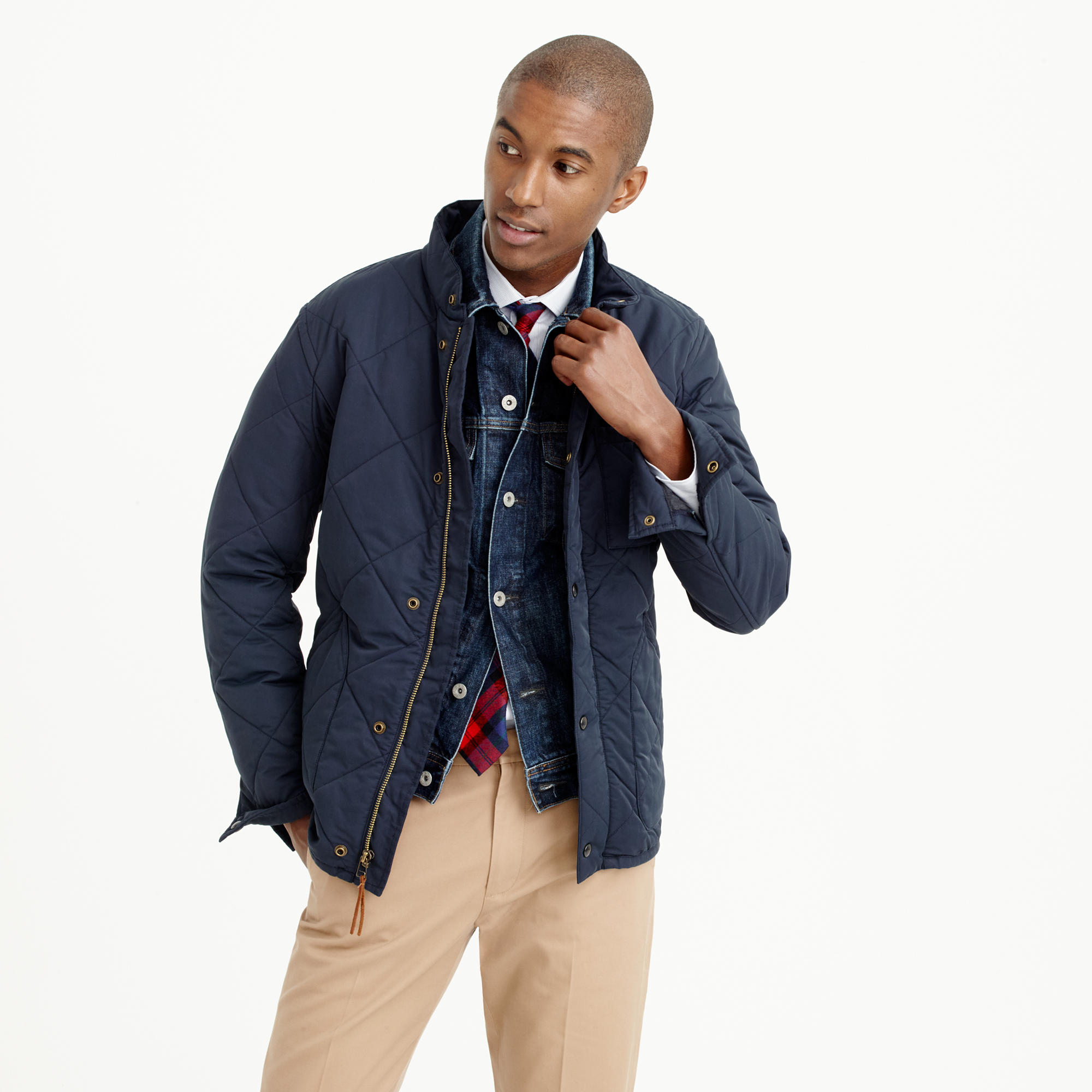 Sussex Quilted Jacket : Men's Coats & Jackets | J.Crew : mens slim fit quilted jacket - Adamdwight.com