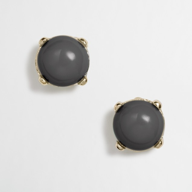 Factory bubble stud earrings