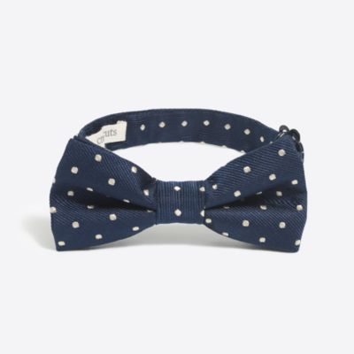 Boys' patterned silk bow tie factoryboys ties & accessories c