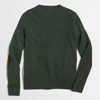 Tall Donegal crewneck sweater